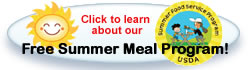 Free Summer Meal Program!